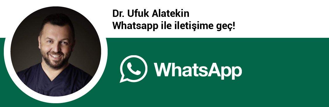 Dr. Ufuk Alatekin whatsapp butonu