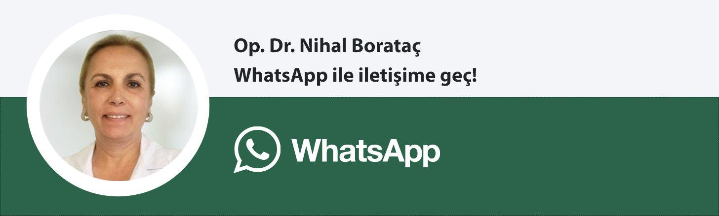 Op. Dr. Nihal Borataç whatsapp butonu