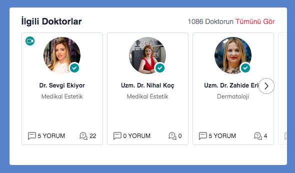 İlgili doktorlar