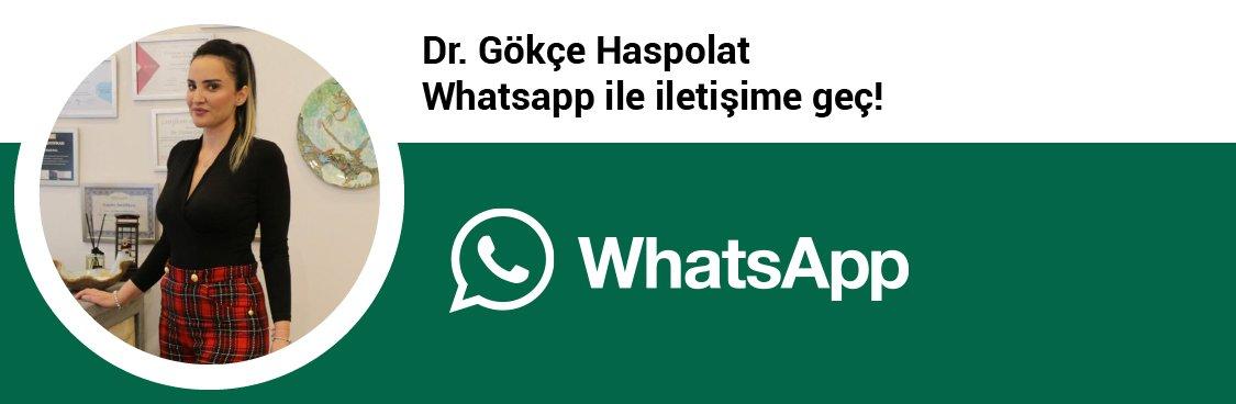 Dr. Gökçe Haspolat whatsapp butonu