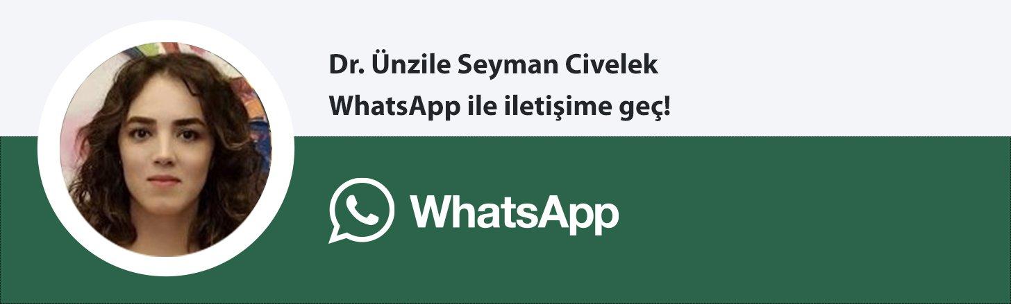 Dr. Ünzile Seyman Civelek whatsapp butonu