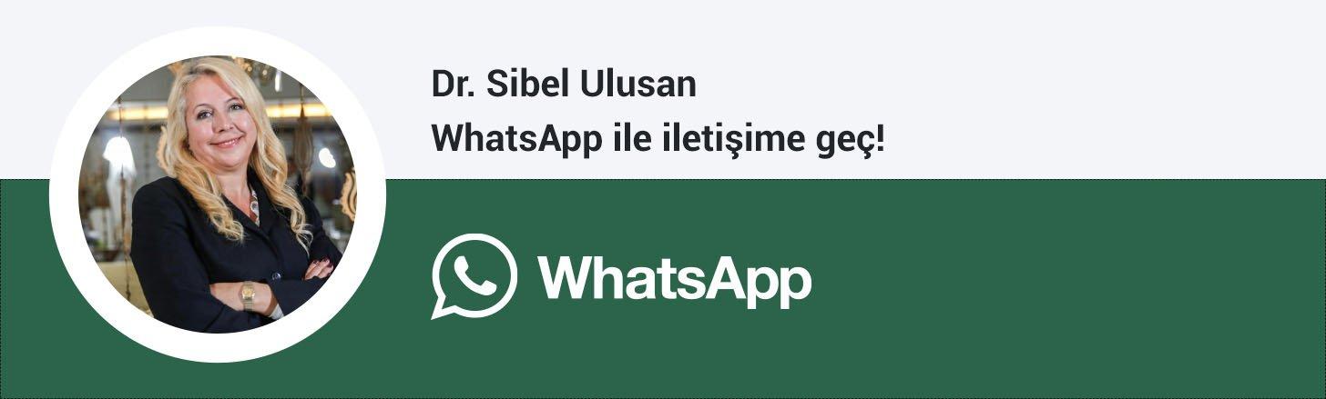 Dr. Sibel Ulusan whatsapp butonu