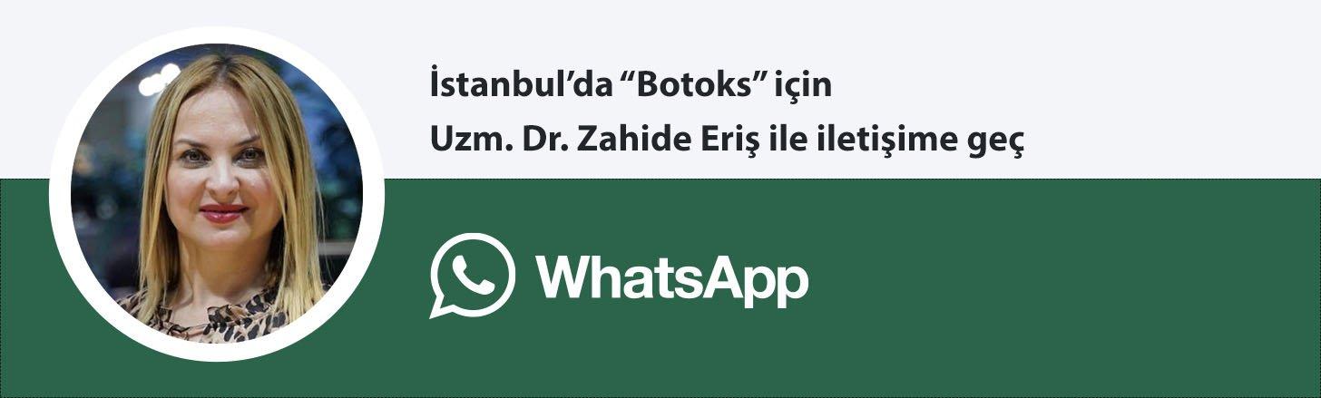 Uzm. Dr. Zahide Eriş botoks whatsapp butonu