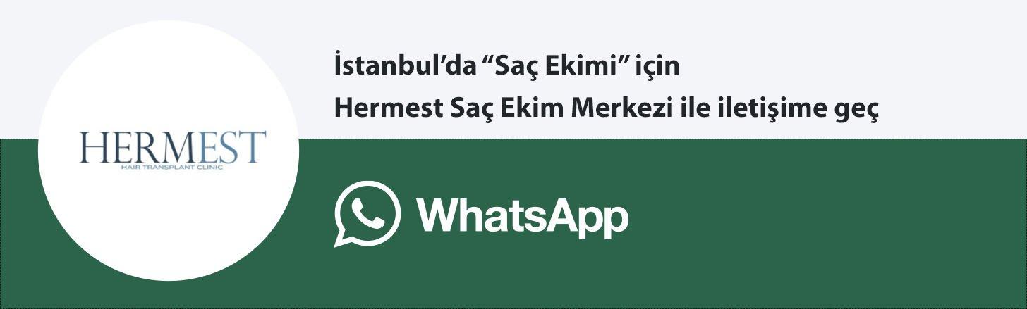 hermest saç ekimi whatsapp butonu