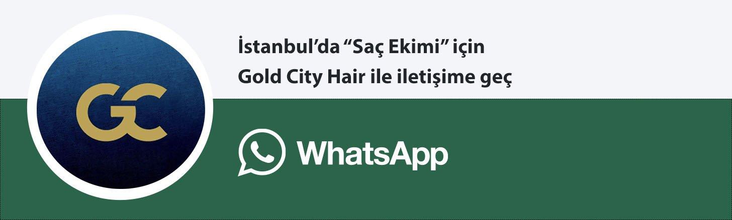Gold Cİty saç ekimi whatsapp butonu
