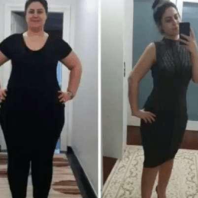 1 yılda 50 kilo verdim!