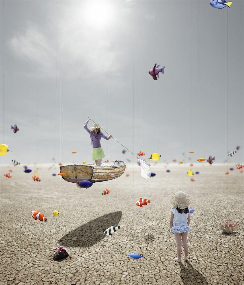 Fotografia La mer - ALASTAIR MAGNALDO - Pittura di immagini