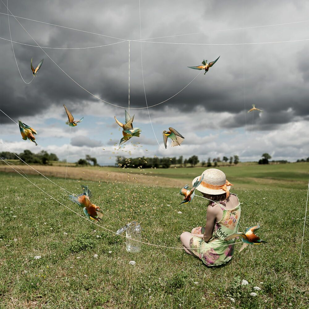 Photograph LE MOBILE II - ALASTAIR MAGNALDO - Picture painting