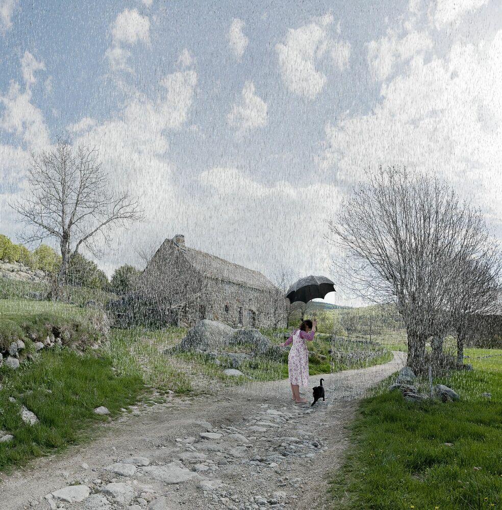 Fotografia Le rideau - ALASTAIR MAGNALDO - Pittura di immagini