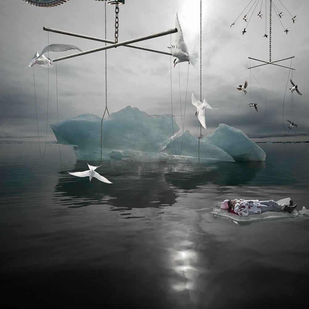 Kunstfoto Le mobile - ALASTAIR MAGNALDO - Foto schilderij
