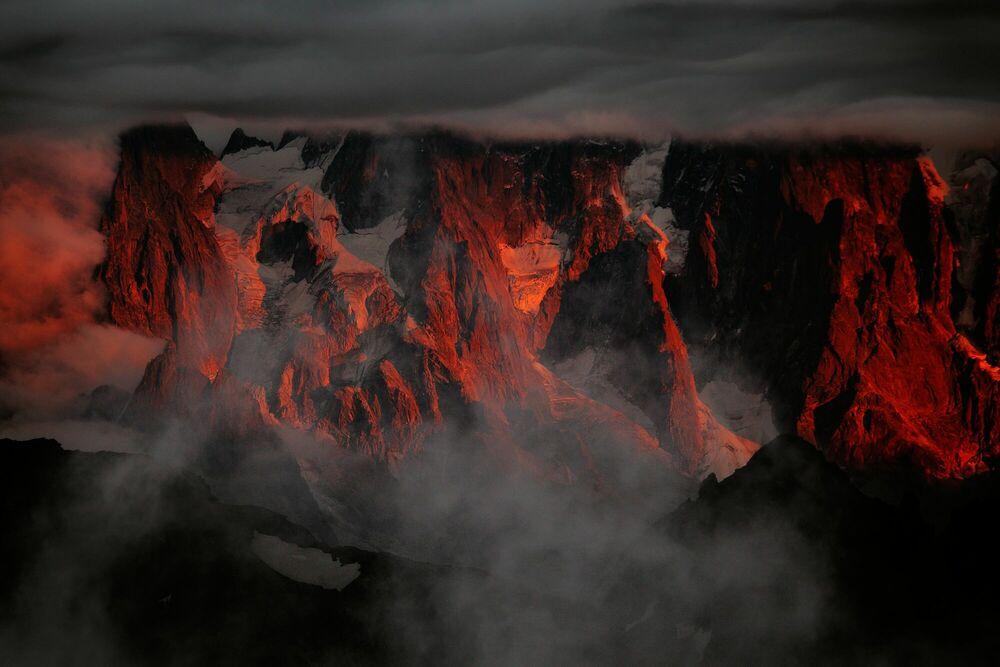 Fotografia Aiguilles de Chamonix - ALEXANDRE DESCHAUMES - Pittura di immagini