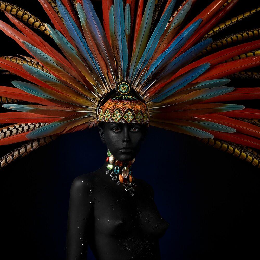Fotografie MAYA GODDESS - ALFREDO SANCHEZ - Bildermalerei