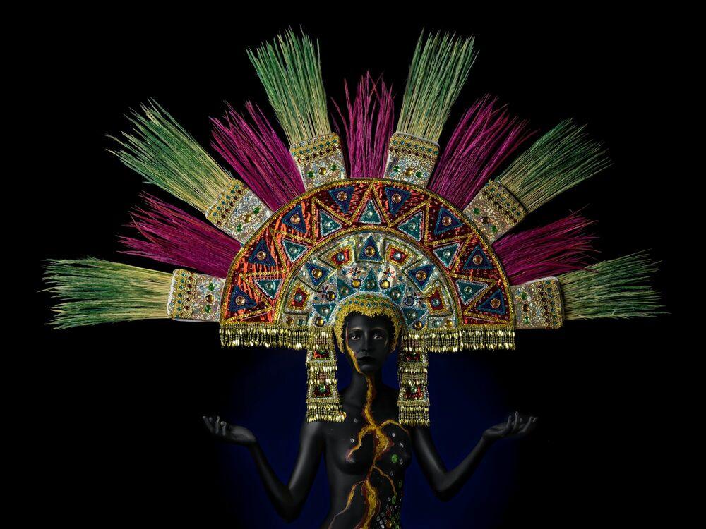 Fotografie MAYA PRINCESS - ALFREDO SANCHEZ - Bildermalerei