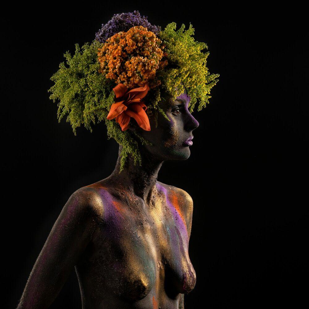 Photograph PLANTS COLOR CLAY - ALFREDO SANCHEZ - Picture painting