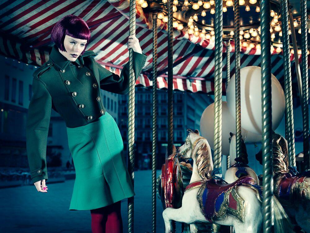 Fotografie Merry Go Round II - ANATOL DE CAP ROUGE - Bildermalerei
