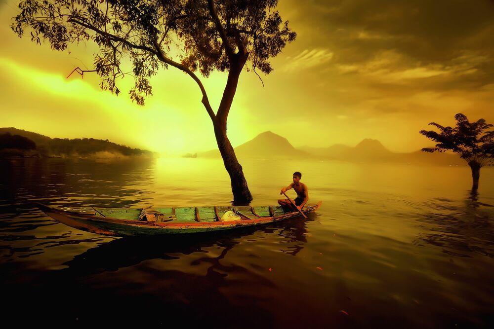 Fotografia Nelayan Jatiluhur - ANDRE ARMENT - Pittura di immagini