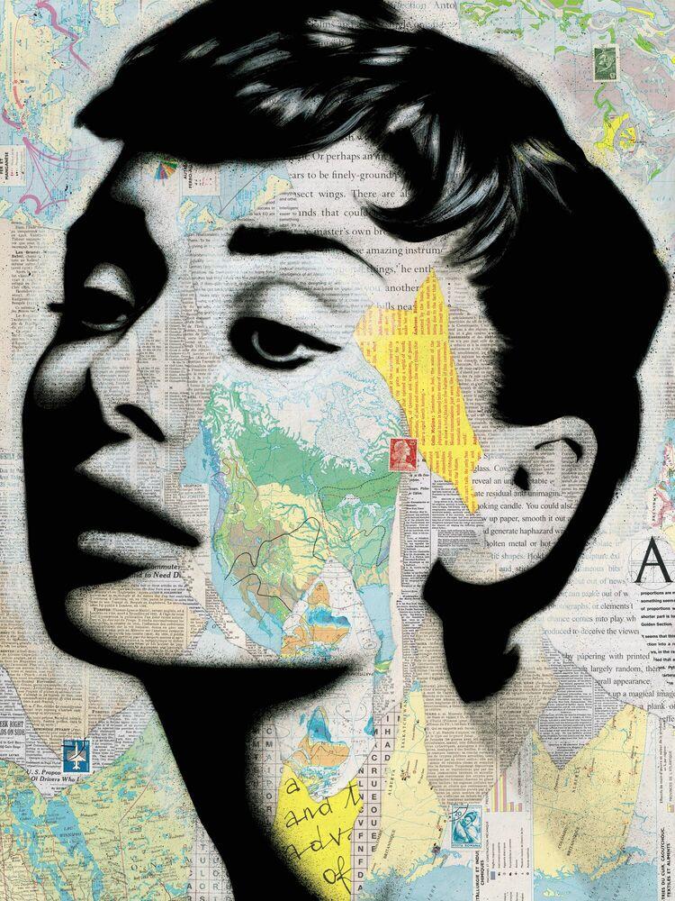 Fotografia AUDREY - ANDRE MONET - Pittura di immagini
