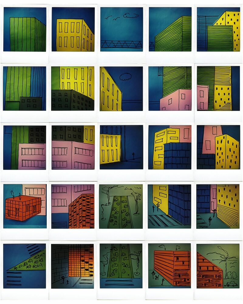 Kunstfoto City - ANDREA EHRENREICH - Foto schilderij