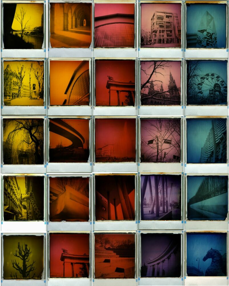 Photographie RAINBOW IN THE CITY - ANDREA EHRENREICH - Tableau photo