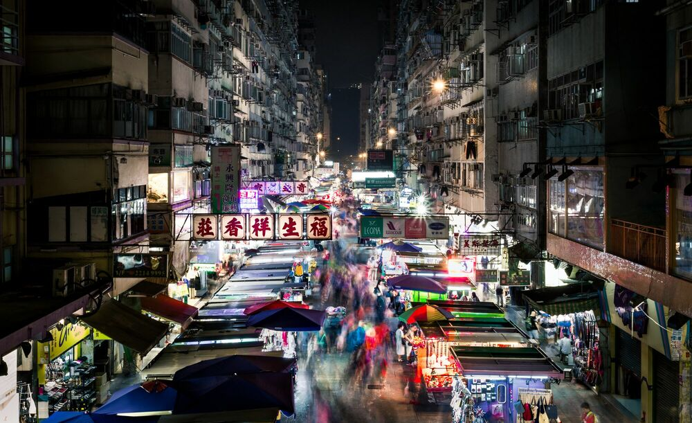 Photographie NORMAL DAY IN MONG KOK - ANDY YEUNG - Tableau photo