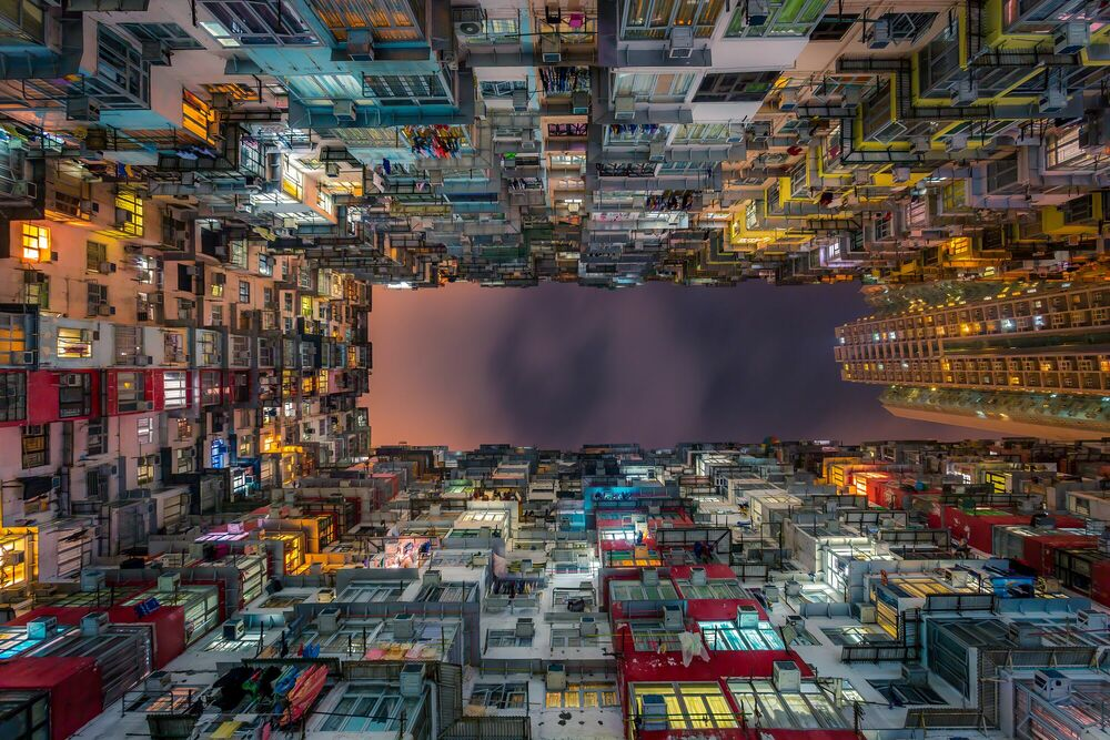 Photograph COMPACT CITY 02 - ANDY YEUNG - Picture painting