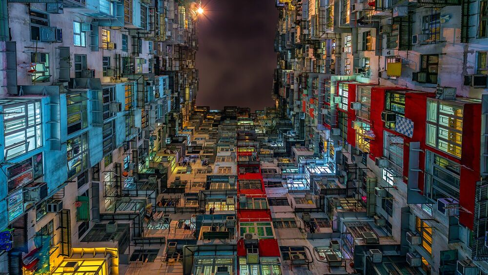 Photographie Compact city - ANDY YEUNG - Tableau photo