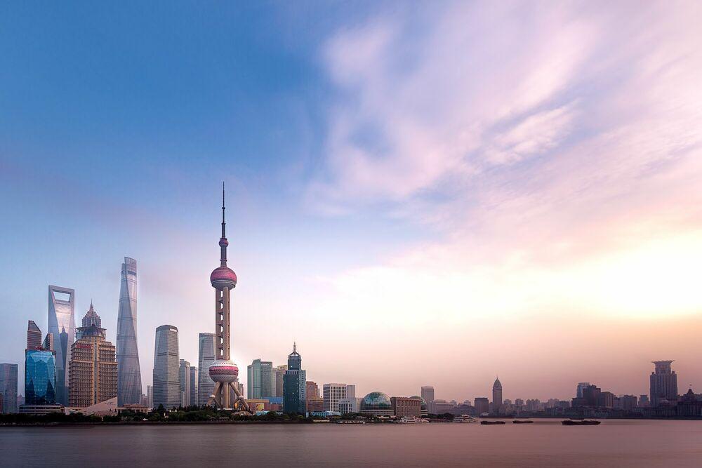 Fotografie SHANGHAI SKYLINE II - ANDY YEUNG - Bildermalerei