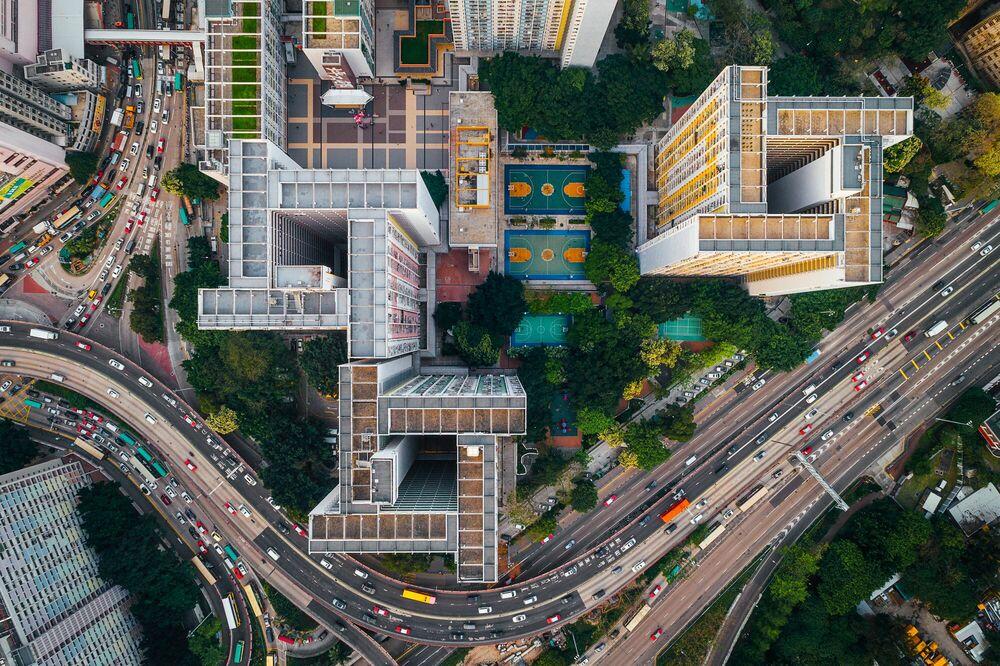 Fotografia WALLED CITY 1 - ANDY YEUNG - Pittura di immagini