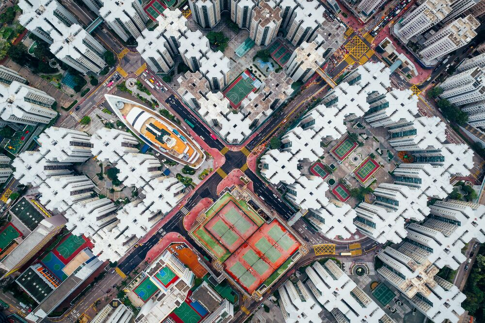 Photograph WALLED CITY 8 - ANDY YEUNG - Picture painting