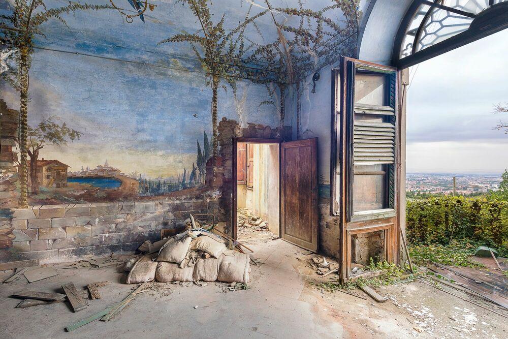 Fotografie CHAMBRE AVEC VUE - Italie - AURELIEN VILLETTE - Bildermalerei
