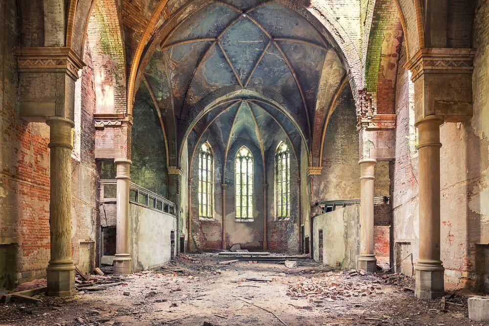Fotografie Dogma - Eglise II - AURELIEN VILLETTE - Bildermalerei