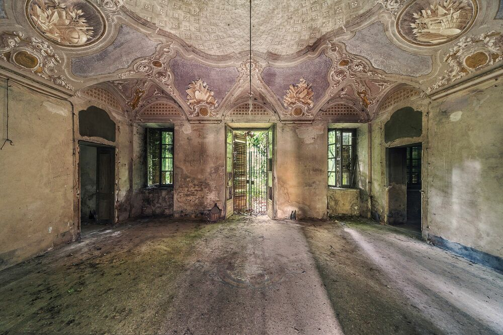 Fotografie Palazzo Sotto Voce - AURELIEN VILLETTE - Bildermalerei