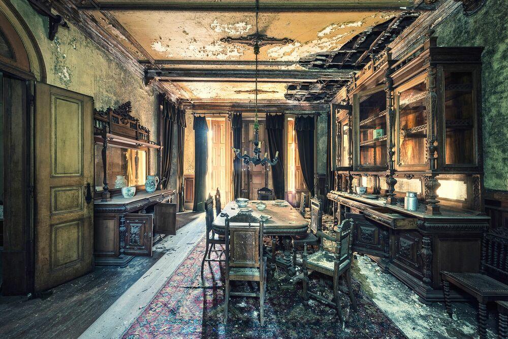 Photograph Réminiscence - le buffet  - AURELIEN VILLETTE - Picture painting