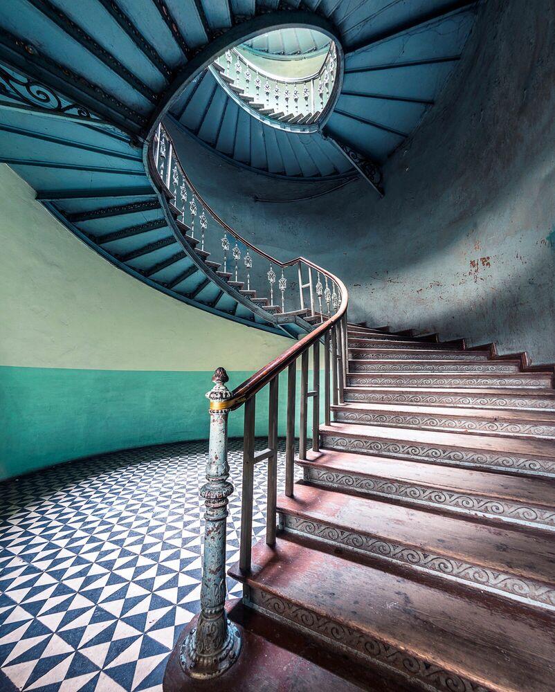 Fotografia VERTICALITE VOLUTE - POLOGNE - AURELIEN VILLETTE - Pittura di immagini