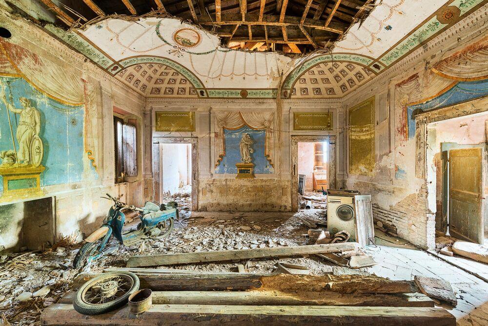 Photograph Villa Campiglia - AURELIEN VILLETTE - Picture painting