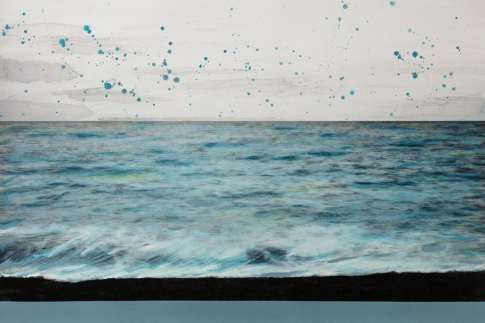 Fotografie Camaïeu en bleu -  Ava x K - Bildermalerei
