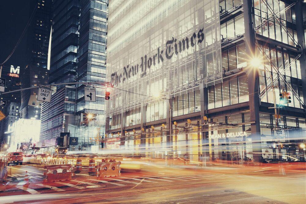 Fotografie NY Noire I - BEN HUPFER - Bildermalerei