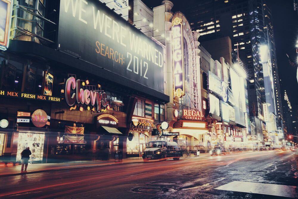Fotografie NY Noire II - BEN HUPFER - Bildermalerei