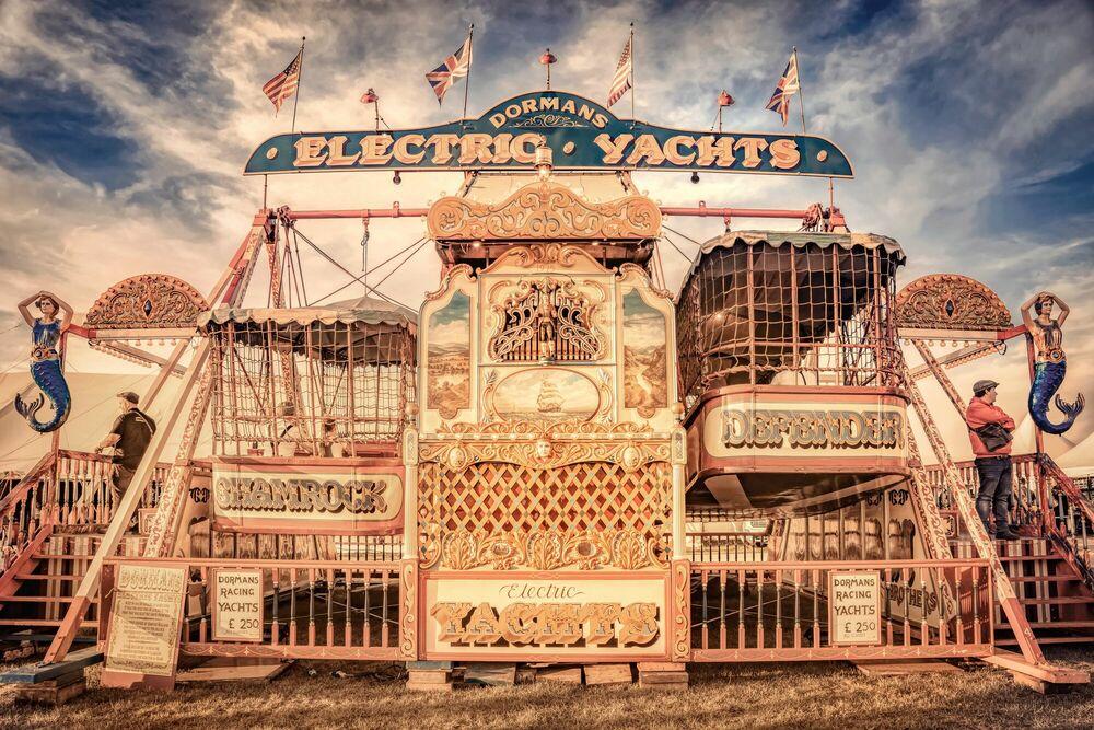 Fotografie ELECTRIC YACHTS - BERNHARD HARTMANN - Bildermalerei