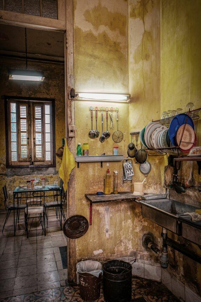 Fotografie LA CUCINA CUBA I - BERNHARD HARTMANN - Bildermalerei
