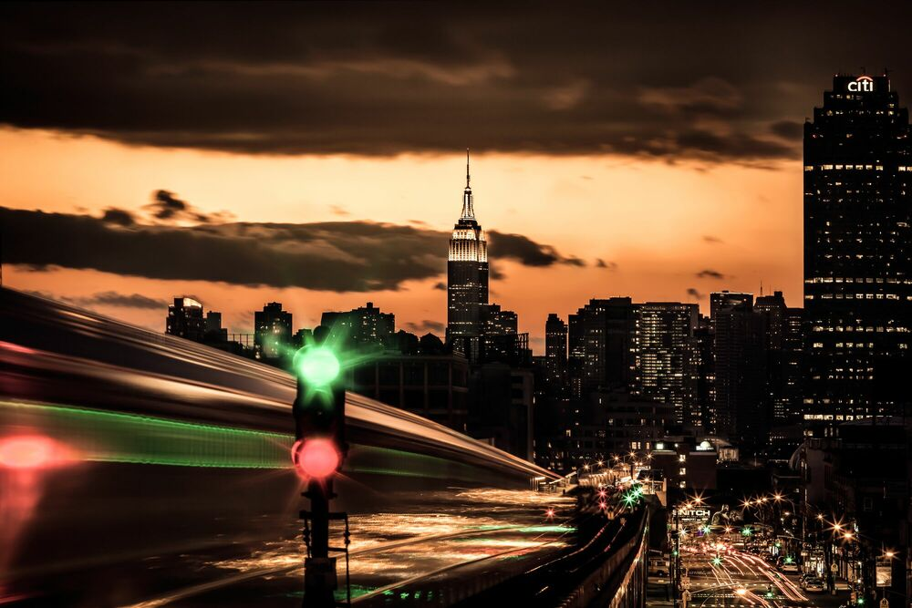 Fotografia NYC Williamsburg Subway - BERNHARD HARTMANN - Pittura di immagini