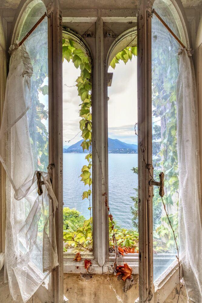Photographie Paradis Secret Window Variation  - BERNHARD HARTMANN - Tableau photo