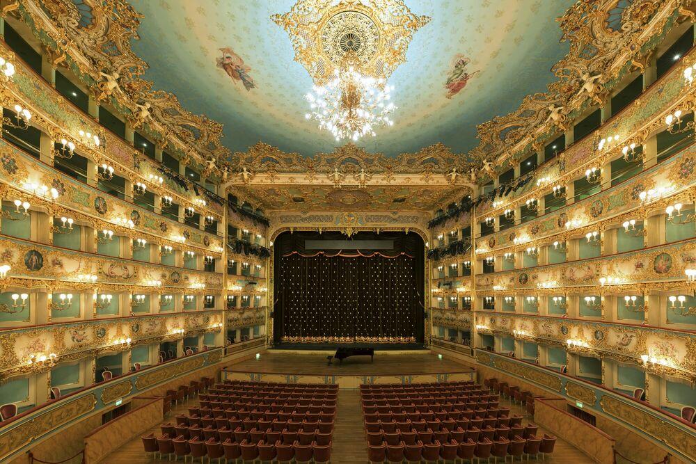 Fotografia Teatro la Fenice Stage - BERNHARD HARTMANN - Pittura di immagini