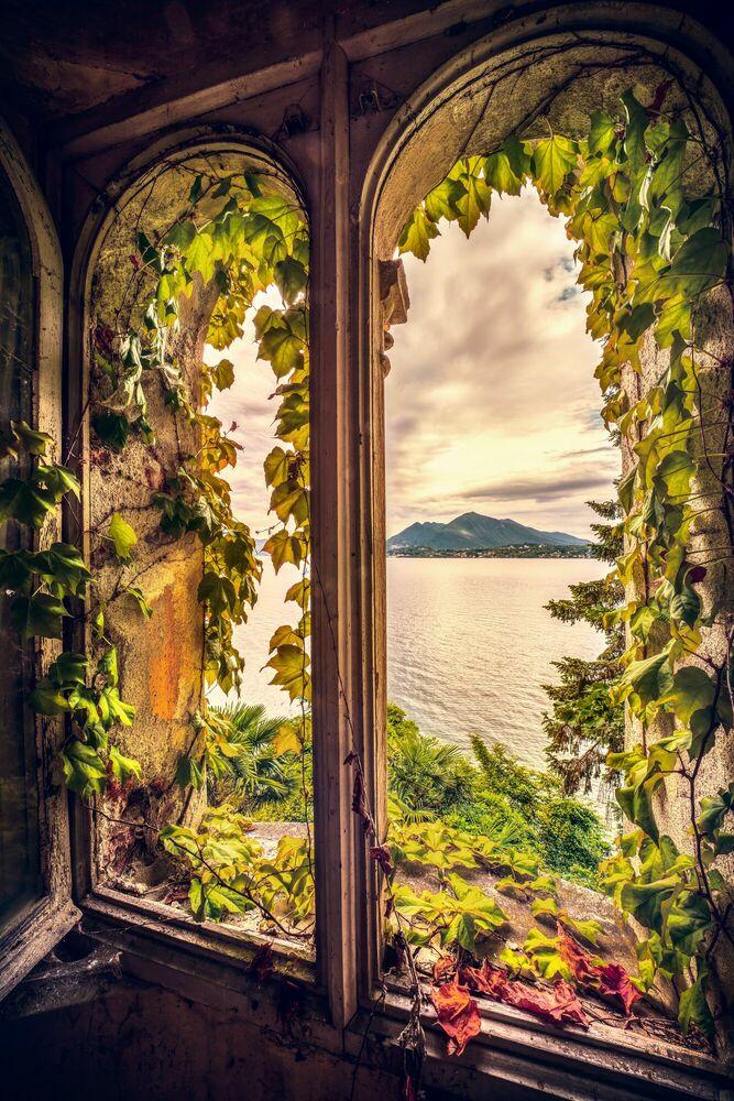 Fotografie THE SECRET WINDOW OF VILLA PELLEGRINI - BERNHARD HARTMANN - Bildermalerei