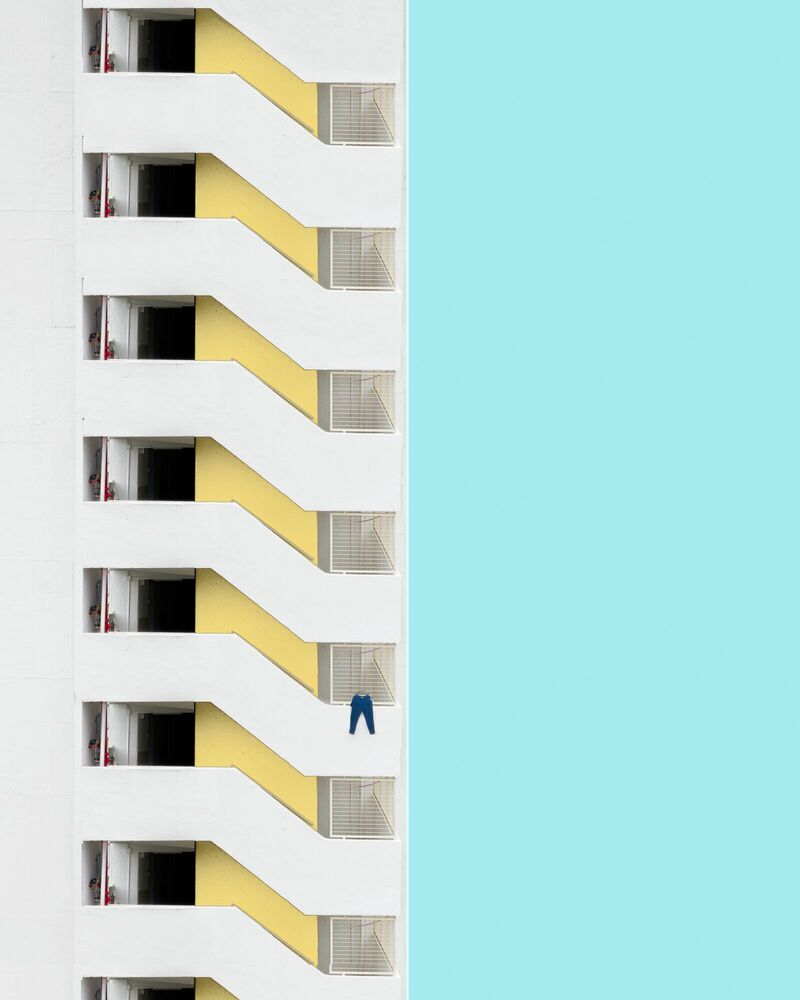 Fotografia LAUNDRY DAY - CHAK KIT - Pittura di immagini