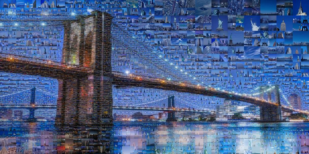 Fotografia OUR BROOKLYN BRIDGE - CHARIS TSEVIS - Pittura di immagini