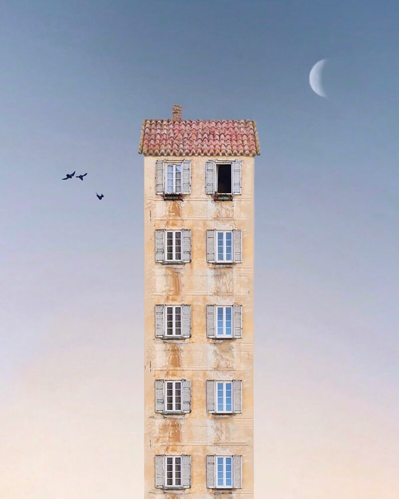 Fotografie BICYCLE SERENITY - CHARLOTTE VAN DRIEL - Bildermalerei