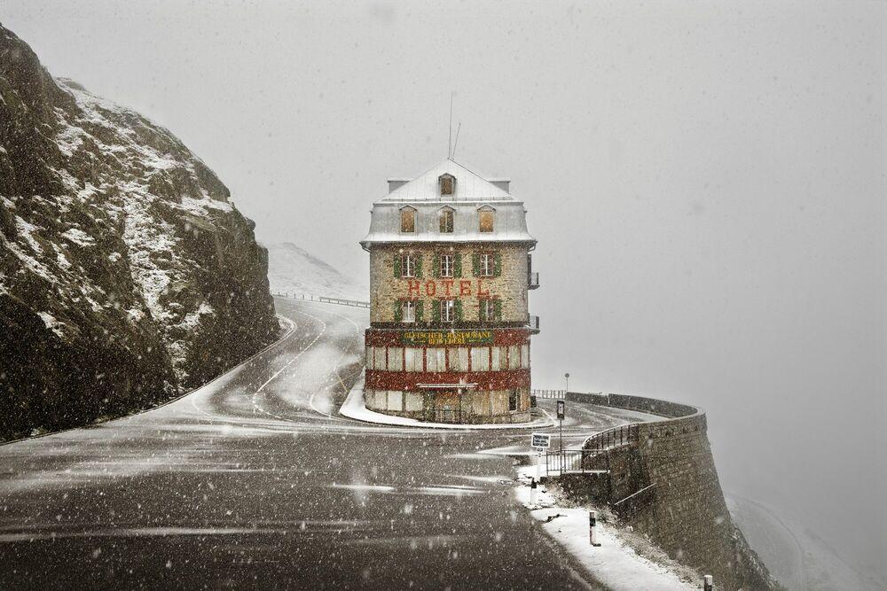 Fotografia Hotel Belvedere en octobre - Christophe  Jacrot - Pittura di immagini
