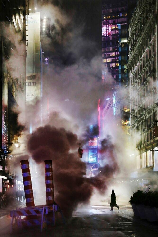 Fotografia Smoke - Christophe  Jacrot - Pittura di immagini