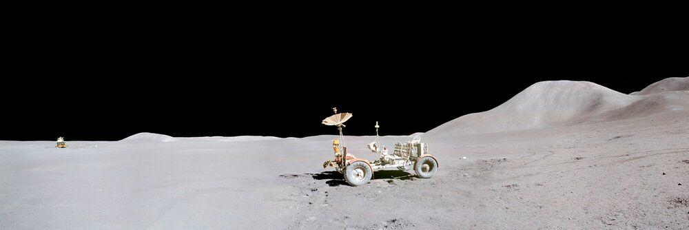 Fotografie Apollo 15 -  CIEL & ESPACE PHOTOS - Bildermalerei